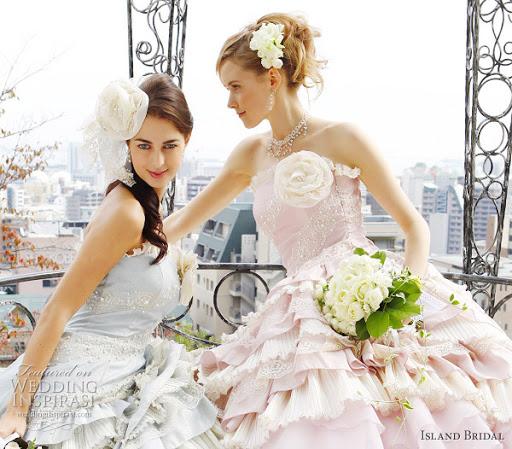 ISLAND ; Bridal Gown
