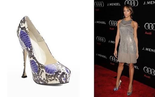Dani Ramirez. Celebrity Shoes of Brian Atwood