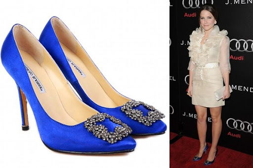 Manolo Blahnik Shoes ; Celebrity, Sophia Bush