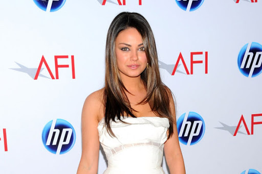 Mila Kunis Golden Globe Dress