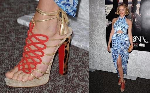 Chloe Sevigny Celebrity and Shoes,