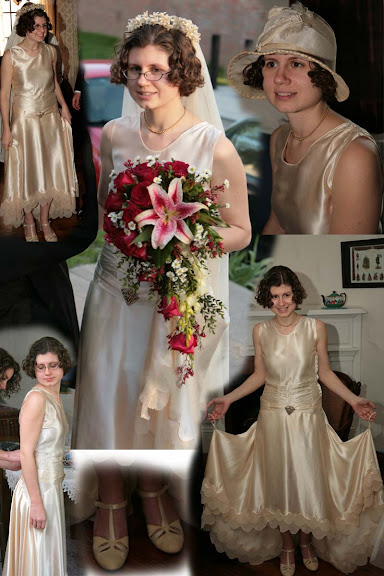 The 20's Vintage Wedding Gown