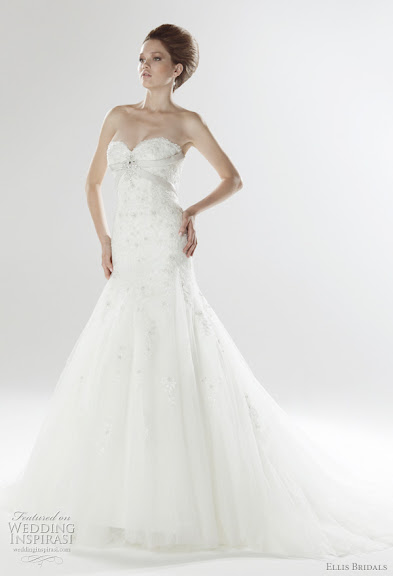 Strapless Bridal Gown 2011