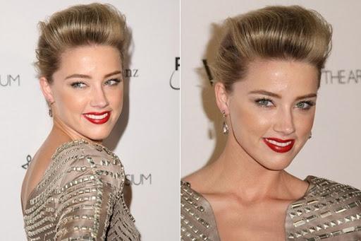 Amber Heard ; Celebrity Makeup