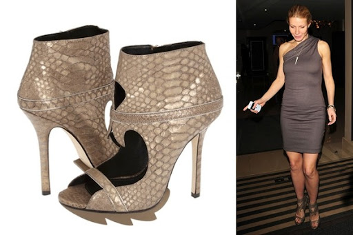 Celebrity's Shoes ; Claw Booties