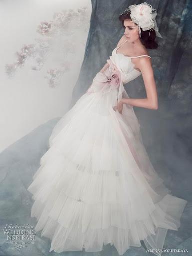 Pink Wedding Gown Ideas