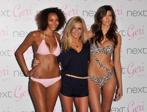 Geri Halliwell ; Celebrity's Swimwear Lines