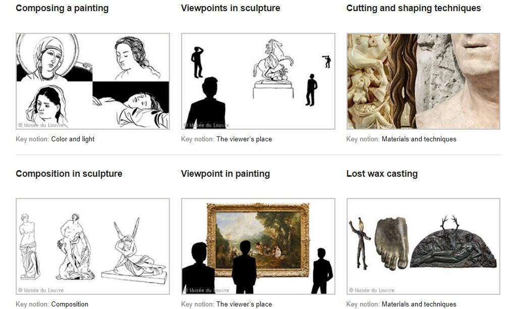"""Screenshot of """"Elements of Art"""""""