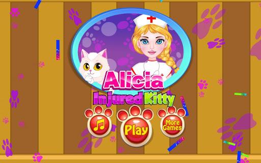 Alicia Injured Kitty