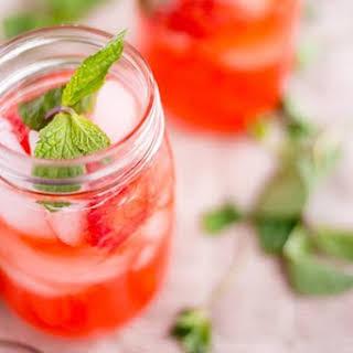 Strawberry Mint Lemonade.