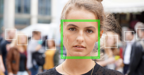face recognition in camera apps