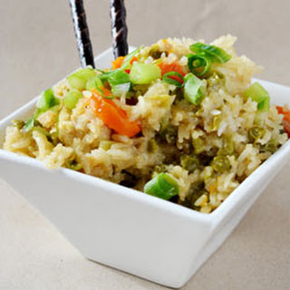 Crockpot Chicken Fried Rice