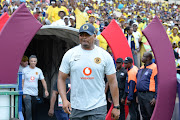Kaizer Chiefs assistant Shaun Bartlett during the Absa Premiership match between Mamelodi Sundowns and Kaizer Chiefs at Loftus Versfeld Stadium on October 27, 2019 in Pretoria, South Africa.