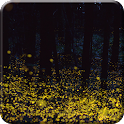 Forest Firefly live wallpaper icon