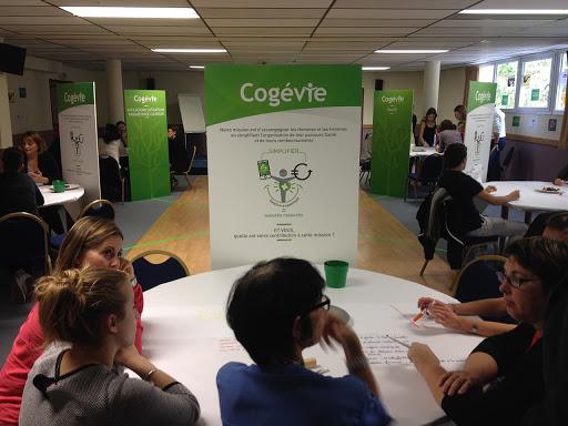 Scénarisation pédagogique - Scénographie pédagogique - mise en scène des messages stratégiques pour  Cogévie - Centre de gestion santé - Nantes 44 Pays de la Loire