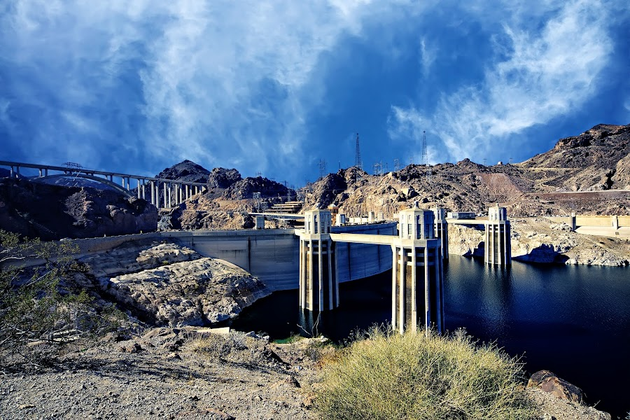 Hoover Dam by Crispin Lee - Buildings & Architecture Other Exteriors