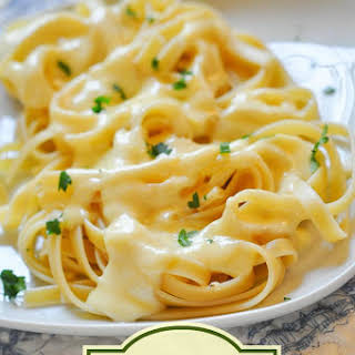 Homemade Alfredo Sauce Without Parmesan Cheese Recipes.