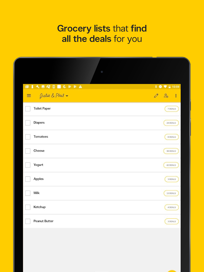 YP Grocery Shopping Lists, Flyers & Deals- screenshot
