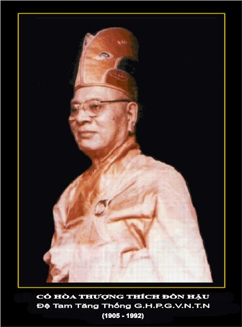 Image result for Đức Đệ Tam Tăng Thống Thích Đôn Hậu image