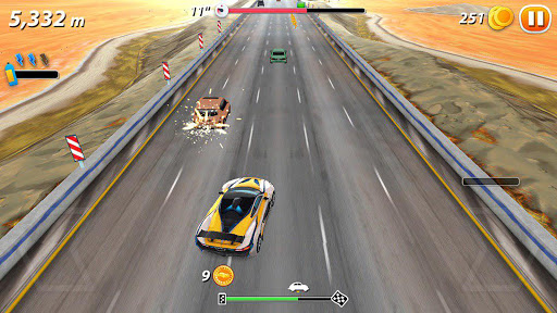 xtreme drive: car racing 3d screenshot 2