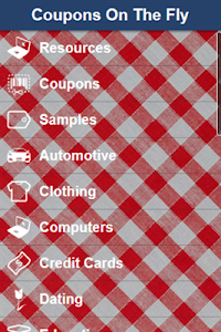 Coupons On The Fly screenshot 1