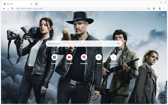 New Tab - Zombieland: Double Tap