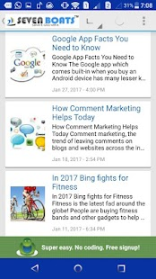 Digital Marketing Tips -7Boats- screenshot thumbnail