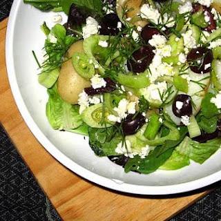 Greek Fennel & Potato Salad