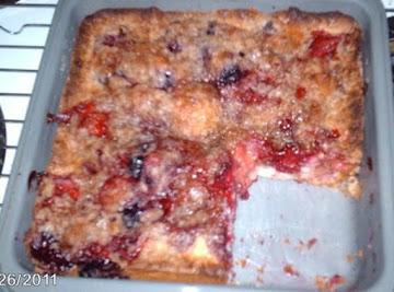 Blueberry Crunch Coffee Cake Recipe