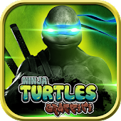 Turtles Ninja Graffiti Fight