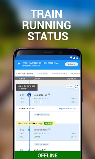 My Train: Live Status, IRCTC PNR Status & enquiry 3.7.0 screenshots 2