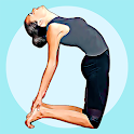 Hatha yoga for beginners-Daily home poses & videos icon