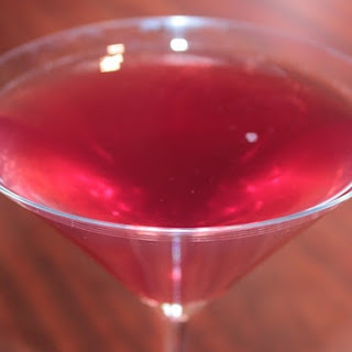 Sparkling Cranberry Pomegranate Martinis