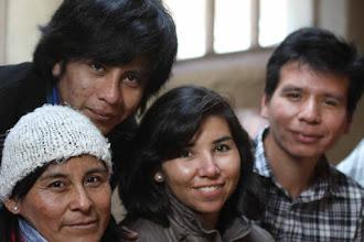 Photo: Gladys Huamani - Ali Rojas - Noelia Ortiz - José Carlos Vega Un tesito o matecito, dependiendo del gusto en Patabamba Casa de la señora Dominga Llloque