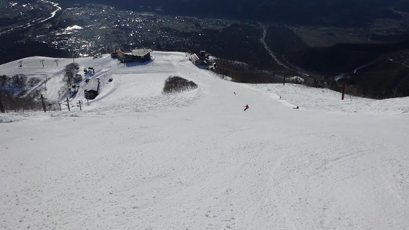 【八方尾根スキー場】うさぎ平ゲレンデ