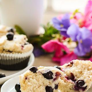 Gluten Free Vegan Blueberry Muffins.