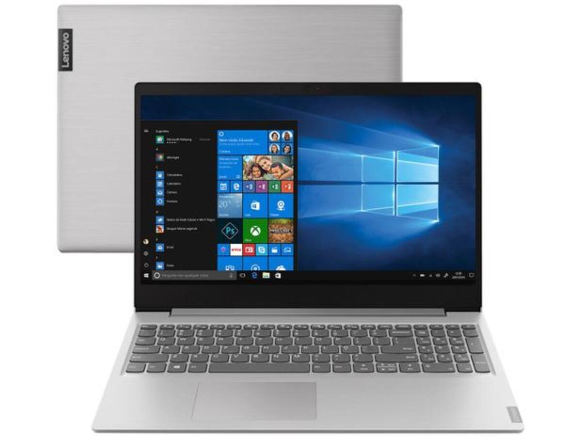 Imagem do Notebook para programar do modelo Lenovo Ideapad S145