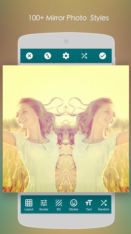 Mirror Photo:Editor&Collage – Screenshot