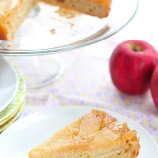 Honey Upside Down Apple Cake