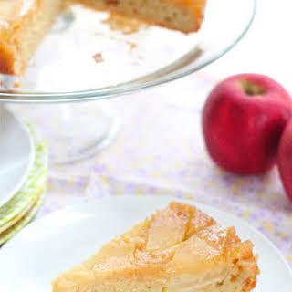 Honey Upside Down Apple Cake.