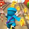 Subway Ninja: Hattori Run FREE Games - Hattori GO