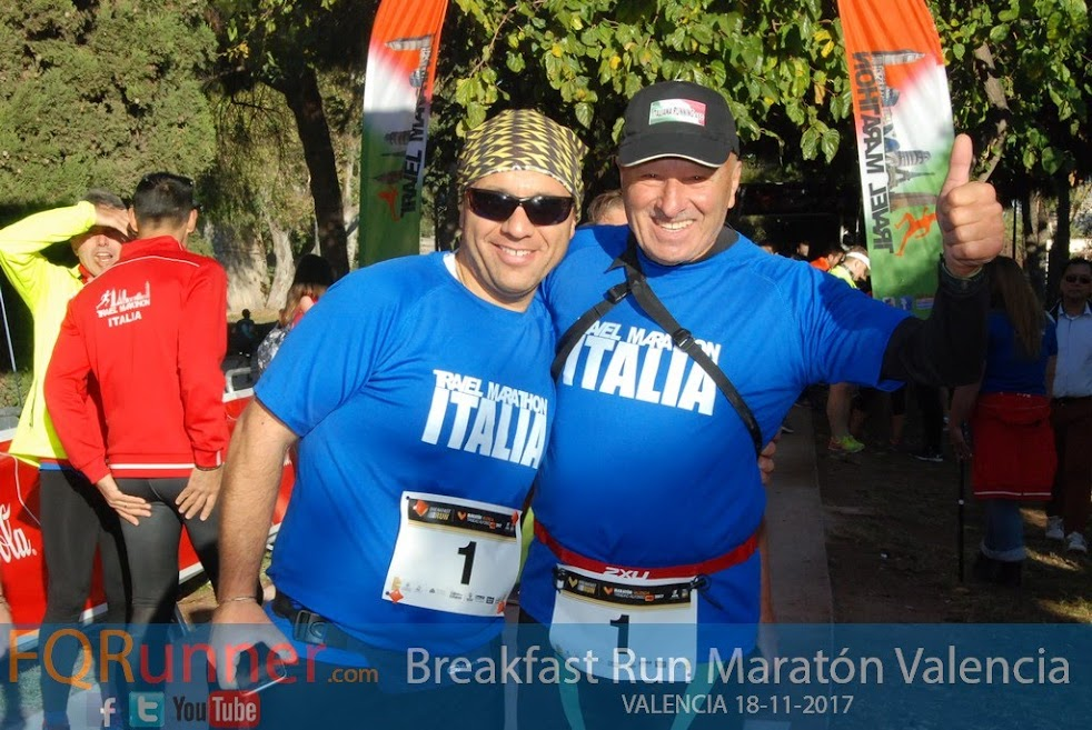 Breakfast Run Maratón Valencia 2017
