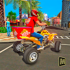 ATV Pizza Delivery Boy icon