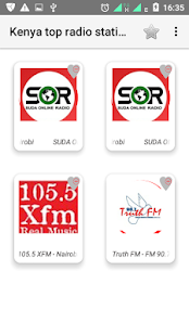 Kenya top radio stations - náhled