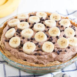 Chocolate Banana Peanut Butter Pie.