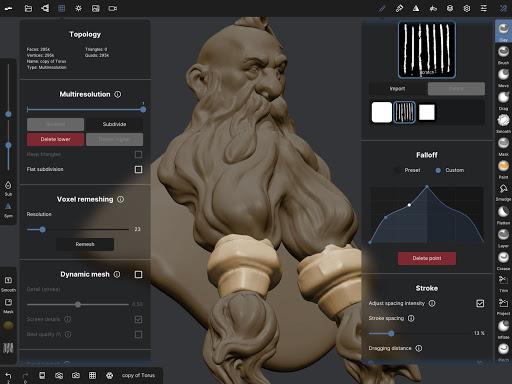 Nomad Sculpt screenshots 15