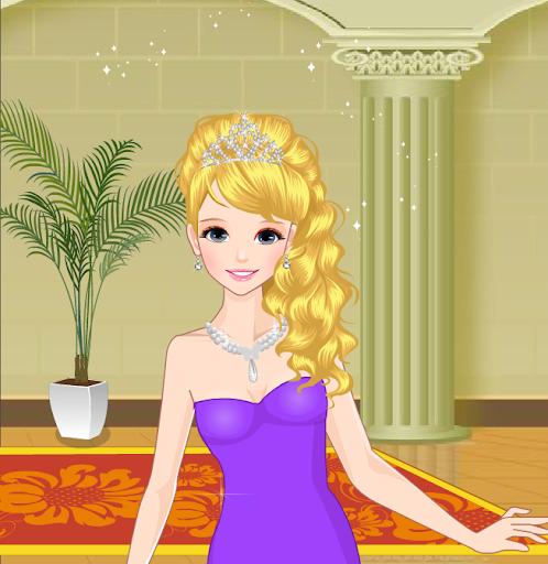 年轻的公主装扮