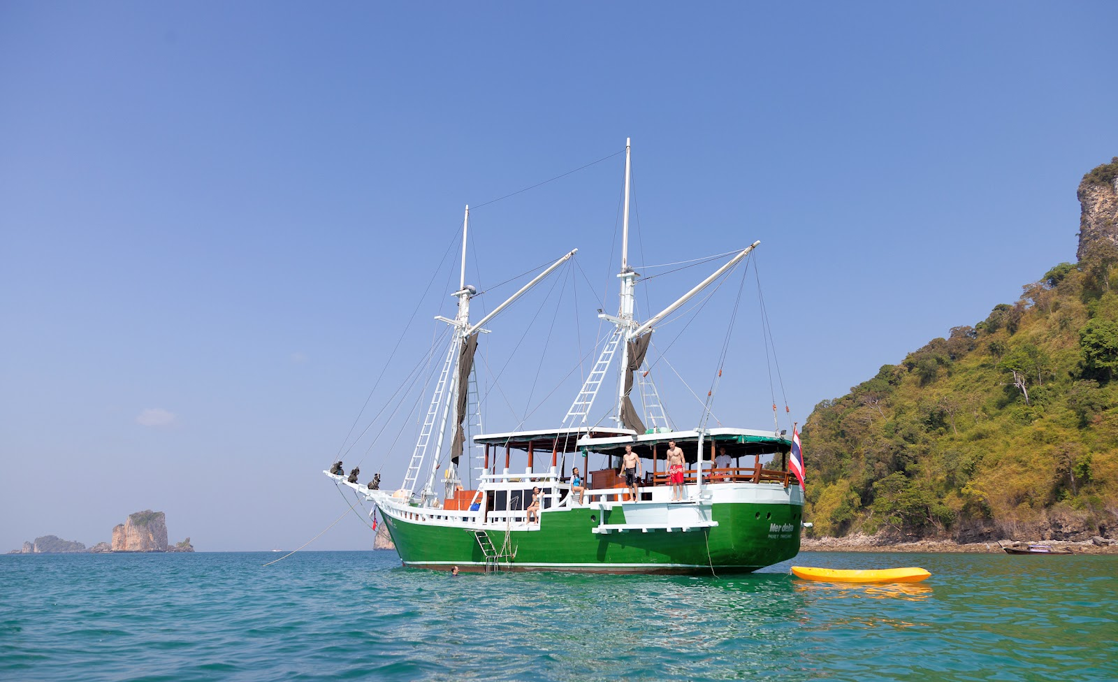 Phi Phi Highlights & Sunset Cruise aboard The Freedom from Krabi