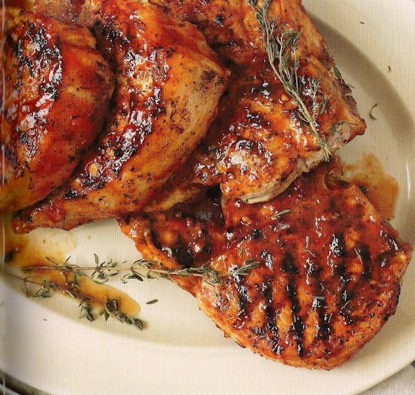 Extra Thick Pork Chops With Homemade Barbecue Sauc Recipe