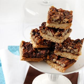Maple Pecan Pie Bars (vegan) – SRC